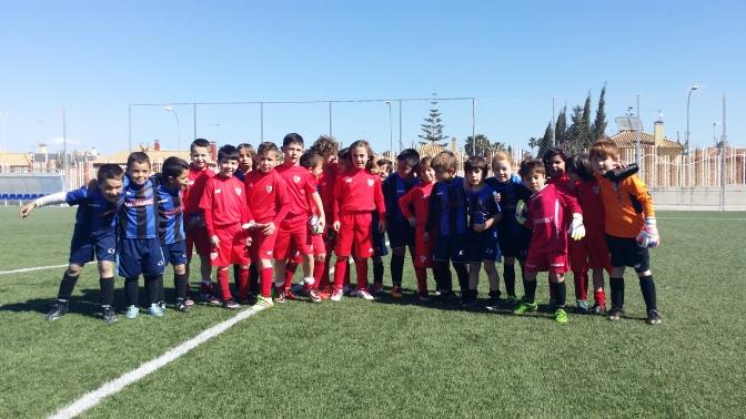 Nuestro Prebenjamín compitió contra el Sevilla FC
