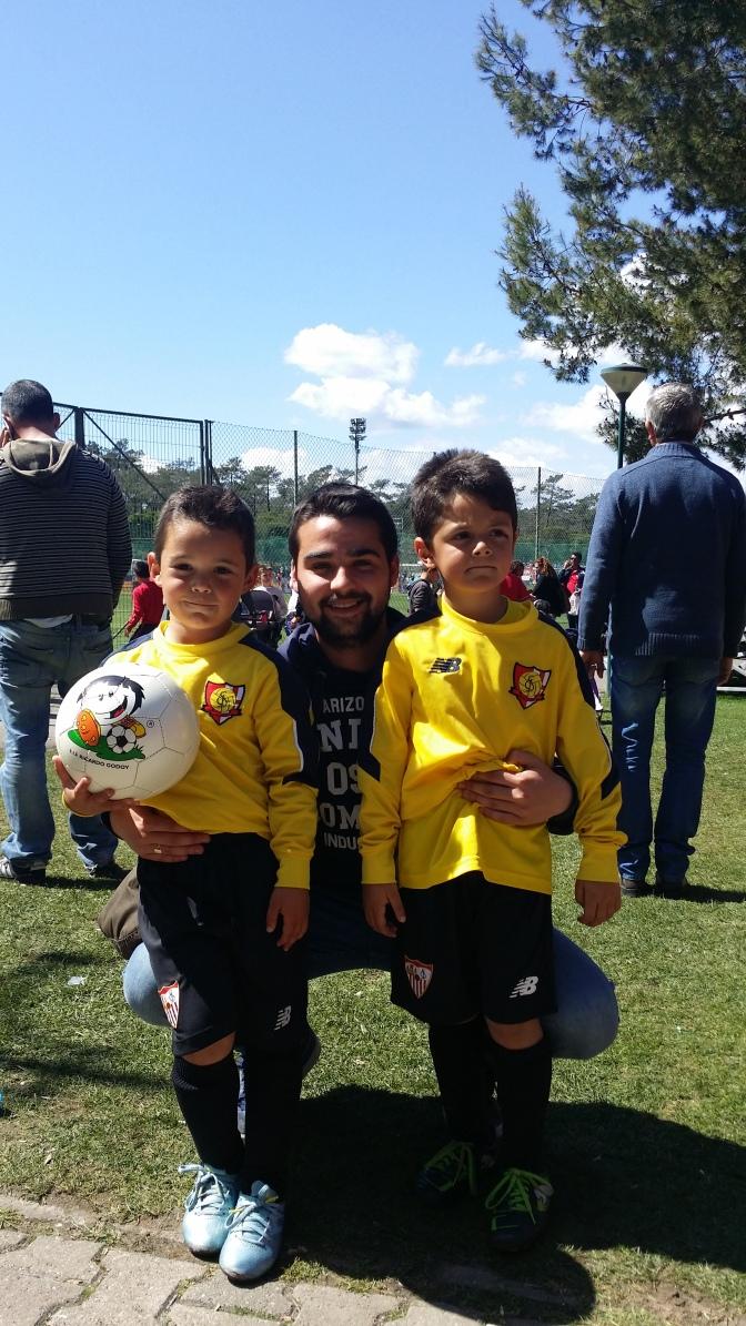El Sevilla FC convoca a dos de nuestros jugadores Bebes para el Mundialito de Portugal
