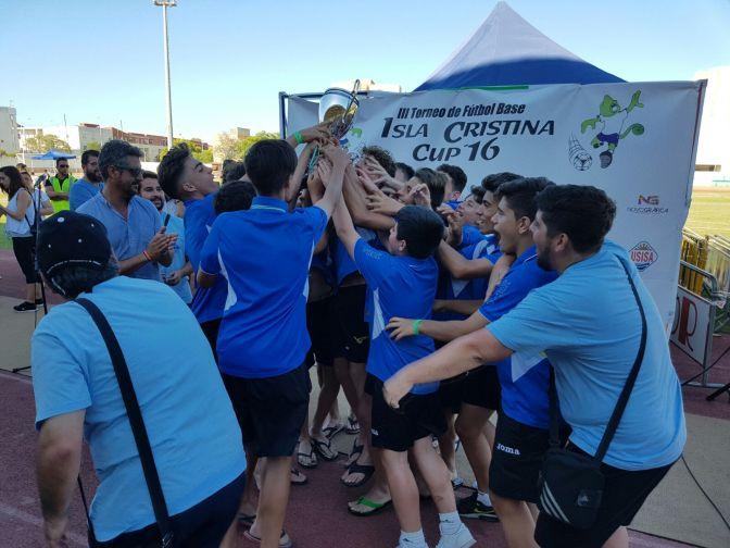 El Infantil A  gana el Torneo de Isla Cristina Cup
